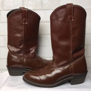 Laredo Boots 8D Lea Vamp Fox SP68093 Brown